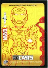 Marvel Masterpieces 2007 Subcast Chase Card #2 Iron Man