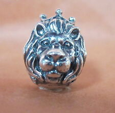 AUTHENTIC PANDORA KING OF THE JUNGLE BEAD BRAND NEW#791377 LION HEAD CROWN POWER