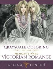 Grayscale Victorian Romance Adult Colouring Book Fantasy Mystical  Magical Fairy