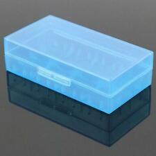 Blue 18650 CR123A 16340 Hard Case Cover Holder for AA AAA Battery Storage Box  A