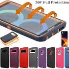 Samsung Galaxy S20+ Ultra Note 10 9 8 Case Shockproof Hybrid Rubber Rugged Cover