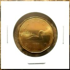 Canada 1987 First Year Issue Loonie BU UNC From Mint Roll!!