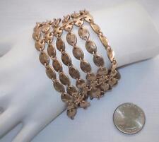 Premier Designs Status Bracelet Antiqued Gold-tone with Magnet Clasp