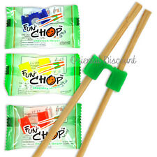 500 Fun Chops Training Chopsticks Cheaters Helpers Funchop Individually Packaged
