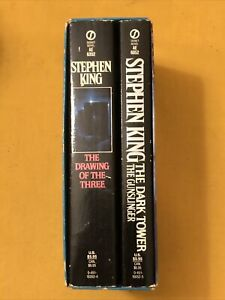 Stephen King Dark Tower Boxed Set The Gunslinger & The Drawing Of The Three PB's