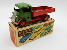 VINTAGE TRI-ANG MINIC DELIVERY LORRY 25M BOXED WIND UP TOY TRUCK ~ MADE IN UK