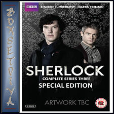 SHERLOCK - COMPLETE SERIES 3 - SPECIAL EDITION **BRAND NEW DVD**