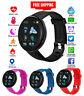 Smartwatch Herzfrequenz Sauerstoff Fitness Tracker Aktivität für Android iPhone