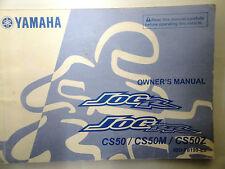 Genuine Yamaha CS50 CS50M CS50Z Jog 50 R RR 2008-ON manual del propietario 49D-F8199-E0