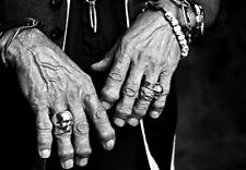KEITH RICHARDS Hands / Rolling Stones *  QUALITY  CANVAS PRINT