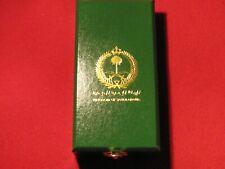 SAUDI ARABIA LIBERATION OF KUWAIT MEDAL BOX MINT CONDITION - NO MEDAL