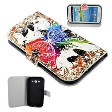 Magnetic Flip Leather Card Wallet Cover Case For Samsung Galaxy Grand Duos i9082