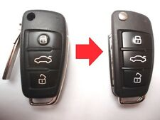 Repair service for Audi A1 A3 A4 A6 A8 TT Q7 remote flip key + new case