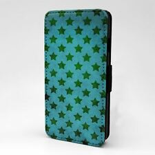 Para Apple iPod Abatible Estuche Cubierta Estrellas Vintage Touch patrón-T1035