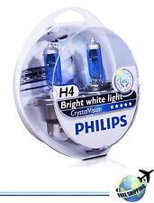 PHILIPS Crystal Vision H4/9003/HB2 60/55W 12V P43t 12342CVSM (2 bulbs H4+ 2 W5W)
