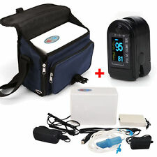 Top Portable Oxygen Concentrator Generator+Recharge Battery+Contec Oximeter Case