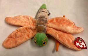 Glow the Glow Worm Ty Beanie Babies Baby Soft Toy New With Tags