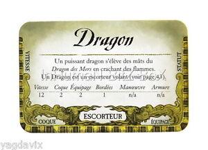 DF41 CARTE ESCORTEUR : DRAGON ACCESSOIRE DREADFLEET