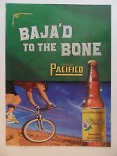 2003 Print Ad Pacifico Beer ~ Baja'd to the Bone Bicycle Ride