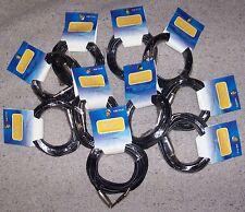 Blocco 10 Cavi  MICROFONO Roling's Cavo 5 mt CANNON XLR Femmina / JACK 6,3
