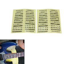 2x Learn Fretboard Note Labels Fret Stickers For Acoustic Electric Guitar