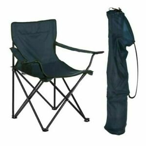 Folding Fishing/ Camping Chair with Cup Holder & Carry Bag
