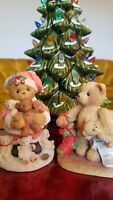 Cherished Teddies Stewart Holidays always bring hearts 112389 Jacob 950734