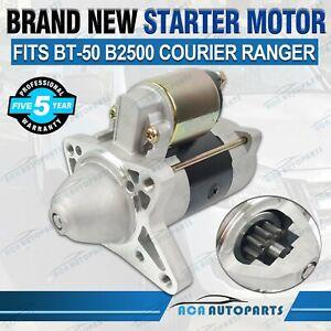 Starter Motor for Ford Courier for Mazda Bravo B2500 E BT50 WL 2.5L 3.0L Diesel