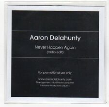 (FA999) Aaron Delahunty, Never Happen Again - 2011 DJ CD
