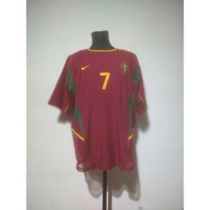 Portugal soccer jersey Nike 2002-2004 Size L Dual Layered match prepared