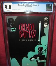 GRENDEL BATMAN DEVIL'S MASQUE #2 DC COMIC 1993 series - CGC 9.8