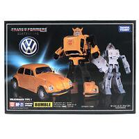 Transformers Masterpiece G1 MP21 Bumblebee Volkswagen Type1 Action Figure KO Toy