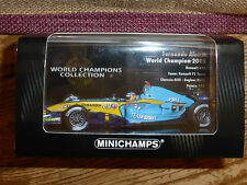 Minichamps 1:43 Fernando Alonso Renault R25 F1 World Champion 2005 WC Collection