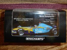 Minichamps 1:43 Fernando Alonso Renault R25 F1 World Champion 2005 WC Collection