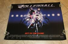 ROLLERBALL movie poster CHRIS KLEIN poster, LL COOL J poster