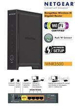10 unidades Netgear wnr3500v2 300 Mbps 4 puerto Gigabit Wireless N Bridge/enrutador