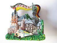 Rüdesheim Magnet Drosselgasse Altstadt Poly Souvenir Germany 6 cm,Neu