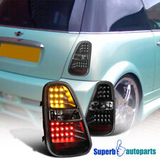 2005-2006 Mini Cooper S LED Tail Lights Rear Brake Signal Lamps Replacement