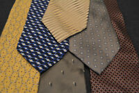 Lot of 6 PERRY ELLIS Neckties - incredibly cheap price! Grab it! D7
