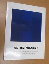 Ad Reinhardt Museum of Modern Art Book