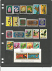 MINT 1974-78 PAPUA NEW GUINEA PNG STAMP COLL x83 STAMPS INC SKINKS,BUTTERFLIES