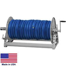 """Pressure Washer & Sprayer Manual Hose Reel - 600 Ft 3/8"""" or 475 Ft 1/2"""" Id Hose"""