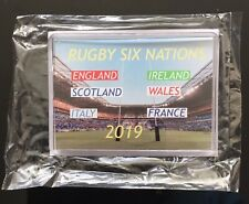 Rugby Six Nations 2019 Brand New Fridge Magnet