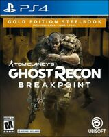 Ghost Recon BreakPoint Gold Edition Steelbook for PlayStation 4 (PS4) BRAND NEW