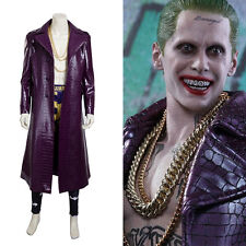HZYM Suicide Squad Cosplay Joker Costume Full Suit