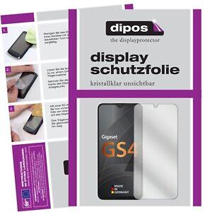 2x Schutzfolie für Gigaset GS4 klar Displayschutzfolie Folie Display Schutz