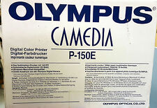 Olympus P-150E CAMEDIA Thermosublimationsdrucker neu OVP