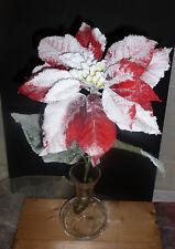 Weihnachtsstern Kunstblume rot Dekoration #902705