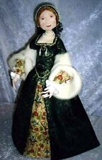 "*NEW* CLOTH ART DOLL (PAPER) PATTERN ""LADY ANNE"" BY SUZETTE RUGOLO"