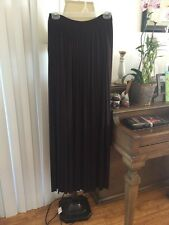 Last Tango NWT BROWN  skirt SZ S Long Ankle Amazing Dressy, Casual